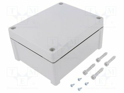 Enclosure: multipurpose; X:163mm; Y:201mm; Z:98mm; TEMPO; ABS; grey [1 pcs]