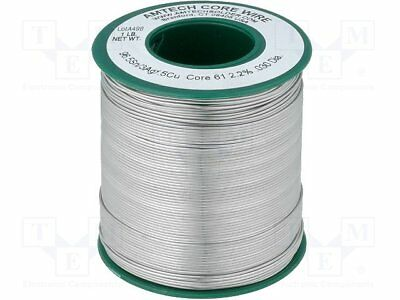 Soldering wire; Sn96,5Ag3Cu0,5; 0.75mm; 450g; lead free; 217°C[1 pcs]