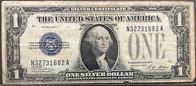USA 1 Dollar 1928 A Silver Certificate One Banknote Schein Funny Back #11951