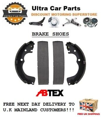 Rear Brake Shoes for FORD TRANSIT Mk 6 & 7 - FWD models - 2000 to 2014