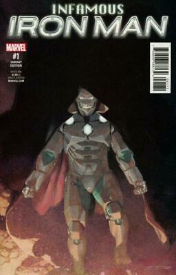 Infamous Iron Man #1 1:25 Variant by Alex Maleev