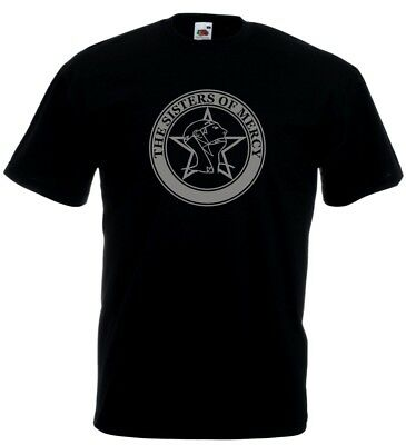 Sisters Of Mercy The Worlds End Simon Pegg Retro 80s t shirt