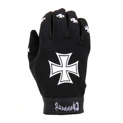 Handschuhe Work Mechaniker Arbeitshandschuhe Harley Chopper Biker Iron Cross