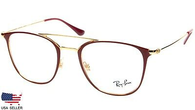 a815d86c788a NEW Ray Ban RB 6377 2910 BORDEAUX GOLD EYEGLASSES GLASSES FRAME 50-21-145