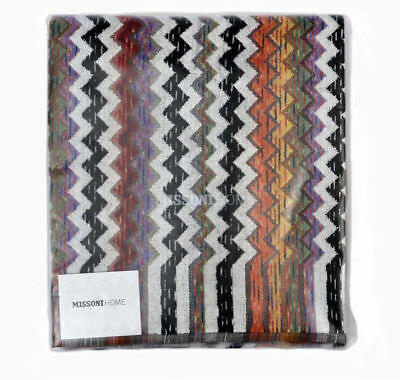 Missoni Home Two Bath Towels Master Moderno Collection Velour Cotton Paul 156