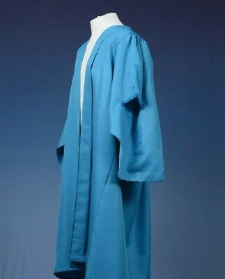 Pale Blue Bachelor Style UK Graduation Gown, Open University MA style