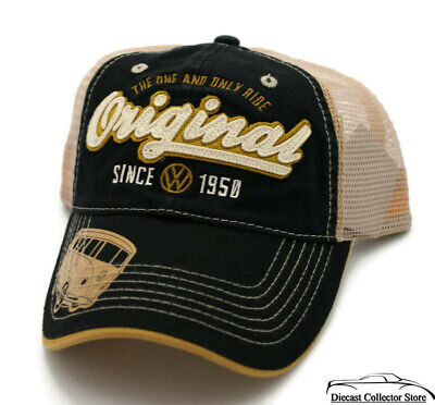 20a514d75 HAT - VW Volkswagon Mesh Embroidered Vented Trucker Style Ball Cap FREE  SHIPPING