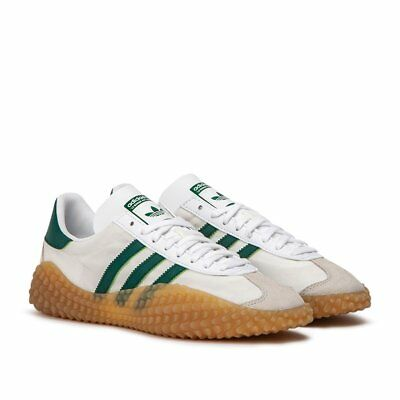 purchase cheap 545d1 e9051 2018 ADIDAS x COUNTRY Kamanda Trainers, White, Gum Sole (G26797), UK