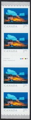 GUTTER strip of 4 = ICEBERG ALLEY = FROM FAR AND WIDE = Coil MNH-VF Canada 2019