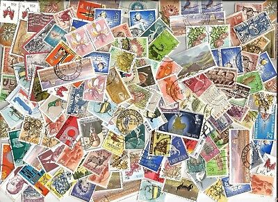 100 SOUTH AFRICA STAMPS selection kiloware mostly  different off paper good used