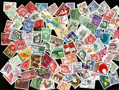 100   YUGOSLAVIA  STAMPS USED .  mostly    different from kiloware good used