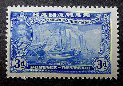 "Bahamas  #137 Vf Mint Nh**(Fishing Fleet) Engraved By  ""canadian Banknote Co."""