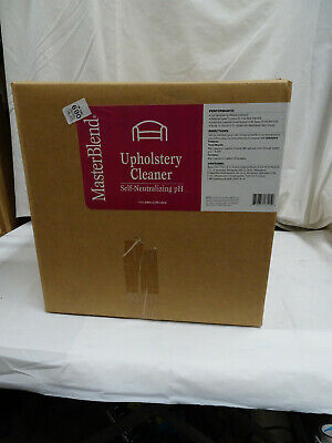 1 Case of MasterBlend Upholstery Cleaner Self - Neutralizing PH
