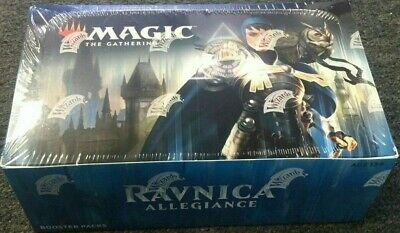 MTG Magic RAVNICA ALLEGIANCE Booster Box Factory Sealed IN STOCK FREE SHIP