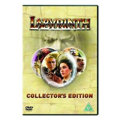 Labyrinth (DVD) David Bowie, Jennifer Connelly fairy magic                     H