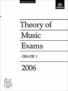 Theory of Music Exams: Grade 1 2006 by ABRSM Publishing | Book | condition good