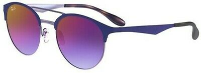 05b0d19a280 Sunglasses Ray-Ban RB3545 9005 A9 54 Matte Blue Gradient Violet