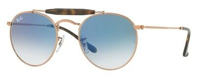 0ba5bbf417 RAY BAN ICONS Sunglasses RB3747 90353F 50 Rose Gold Havana   Blue ...