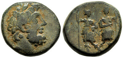FORVM Kingdom of Chalkis Ptolemaios 85-40 BC Nice Desert Patina Attractive Coin