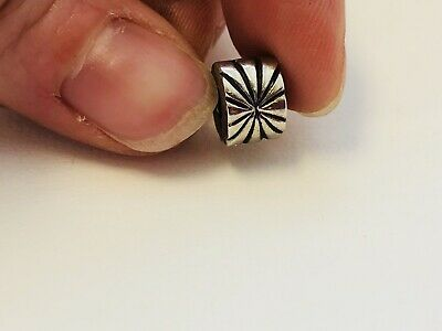 Authentic PANDORA Sterling Silver 925 Starburst Spacer Clip Bead Charm Retired