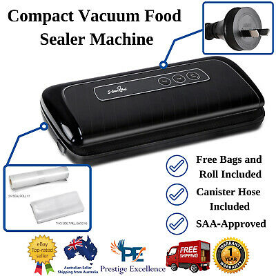 Vacuum Sealing Sealer Machine Food Storage Cryovac Packaging System 5 Star Chef