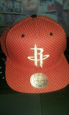d5cf7878bf108 New Mitchell And Ness Houston Rockets Snapback Hat NBA red Cap Free Ship
