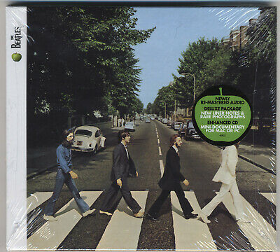The Beatles - Abbey Road - 2009 Remaster CD Digipak SEALED With Hype Sticker!!!!