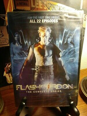 Flash Gordon: The Complete Series (DVD, 2013, 4-Disc Set) - Brand New & Sealed!!
