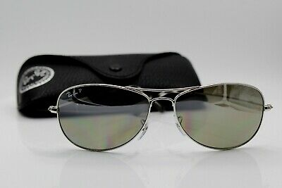 Ray-Ban RB3562 003 5J Silver  Polarized Silver Mirror Chromance 59mm 14mm 26771fb315e5