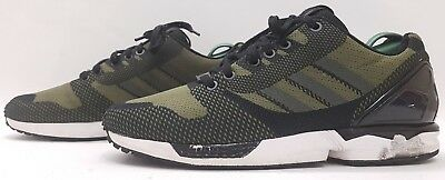 the best attitude 05e2d b8ac7 GENUINE BLACK ADIDAS Torsion Zx Flux Trainers Size 3 Unisex ...