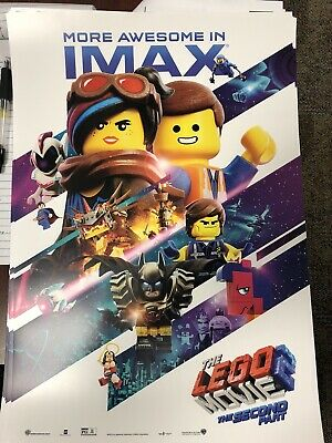 The Lego Movie 2 Imax Movie Poster 13x19