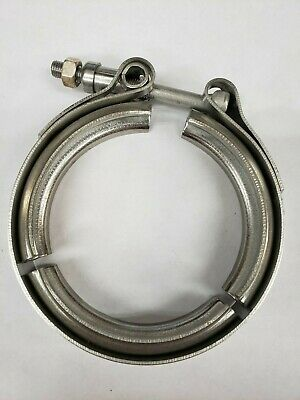 """R.G. Ray 100137 Turbo V-Band Clamp 4"""" Stainless Steel"""