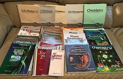 ABEKA 11TH GRADE Curriculum Complete Teacher & Some Student Books 27+ FREE  SHIP