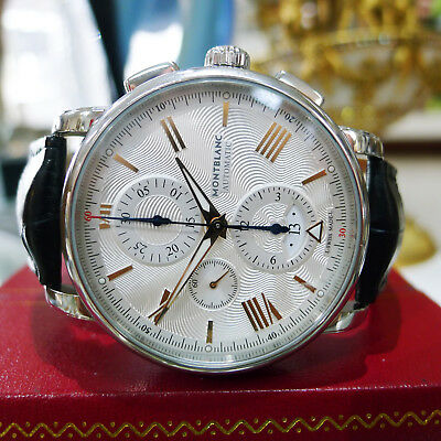 Montblanc 4810 Chronograph Automatic Silver Dial Men's Watch