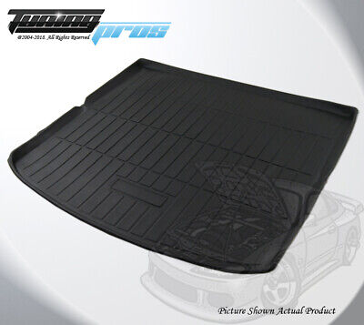 All Weather Cargo Liner Trunk Floor Mat Black Custom Fit Ford Edge 2015-2018