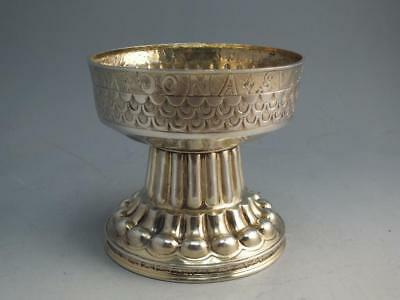 Sterling Silver Replica Of Thne Tudor Cup Made By Shepheard & Co. 1912