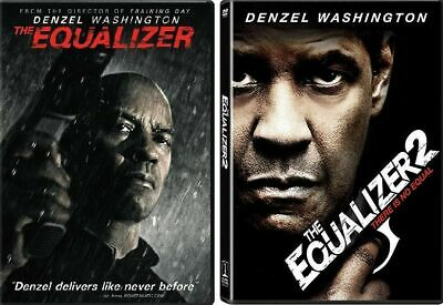 The Equalizer 1 And 2 DVD Set Complete Film Collection Movies Denzel Washington