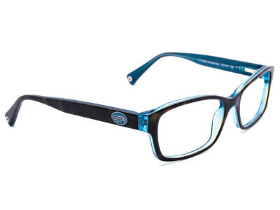 c0f82820d12 Coach Eyeglasses HC6040 Brooklyn 5116 Tortoise Teal Rectangular Frame  52  16 135