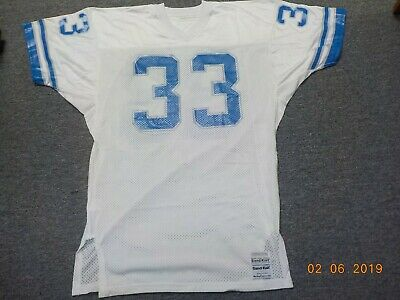 1980'S DETROIT LIONS Game Used Worn Jersey $72.01 | PicClick