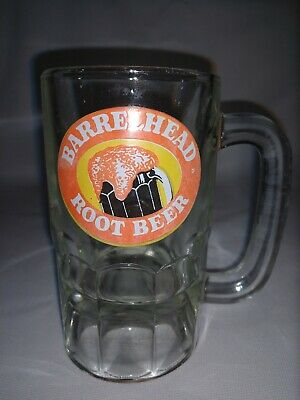BARRELHEAD  ROOT BEER Vintage: Heavy Mug - Stein, Pre-owned