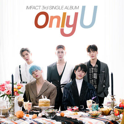 IMFACT [ONLY U] 3rd Single Album CD+POSTER+Photo Book+Photo Card K-POP SEALED