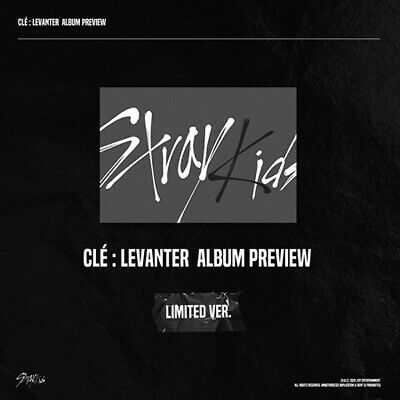 STRAY KIDS [CLE:LEVANTER] Album LIMITED CD+POSTER+Photo Book+Card+Pre-Order+GIFT