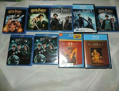 Blu ray Harry Potter Movie Lot of 6 Chamber of Secrets...Order of Phoenix Goblet