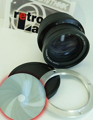 Carl Zeiss Jena Tessar 300mm/4,5 large format lens, EX!