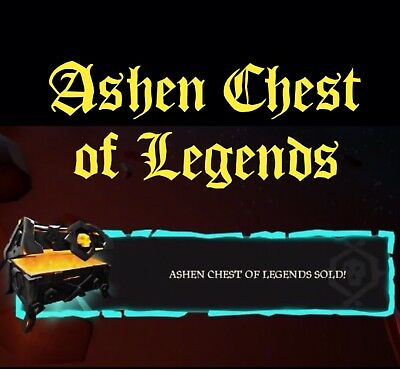 Ashen Chest Of Legends -Athena Fortune Boost(Sea Of Thieves Services)