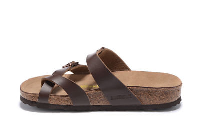 Birkenstock Mayari Cork Sandals Brown Birko-Flor - Regular