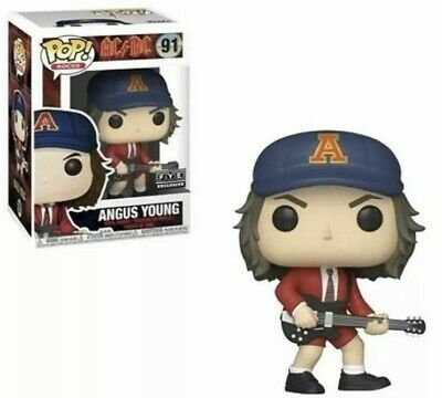 PREORDER: Funko Pop Rocks - ANGUS YOUNG ( RED JACKET ) - AC/DC - FYE Exclusive