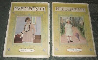 2 March 1920 And April 1920 Publications - Needlecraft