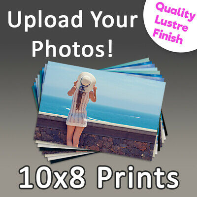 Photo Prints 10x8- Personalised Photo Printing Service, High Quality Photographs