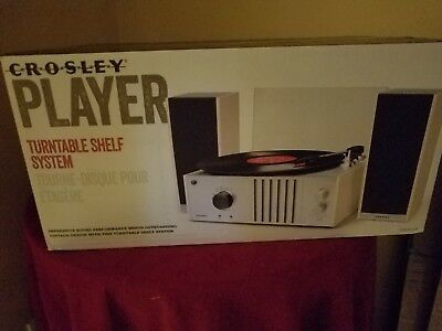 Crosley Player Turntable Shelf System 68 88 Picclick